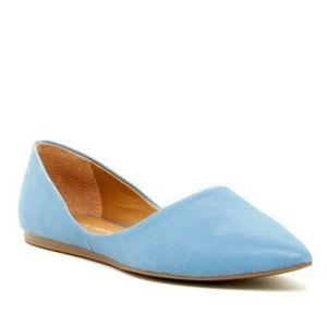 🌿Franco Sarto Light Blue Heath Flats Size 7.5🌿
